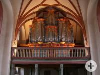 Alte Kirche St. Michael Schopfheim - Georg-Markus-Stein-Orgel 1768 (c) Evang. Kirchenbezirk Markgräflerland, Region Schopfheim