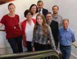 Neu im Gemeinderat: Dr. Merschhemke, Elke Rupprecht, Gisela Schleidt, Fabienne Kiefer, Bürgermeister Harscher, Sven Hendrik Wünsch, Felix Straub, Walter Würger