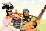 Der singende klingende Bauernhof (c) Frank Klaffke/Theater Sturmvogel