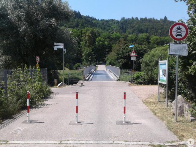 Die Brücke in Ehner-Fahrnau