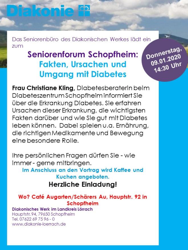 Plakat Seniorenforum