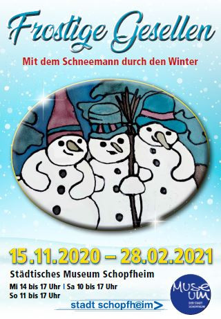 Ausstellung Museum - Frostige Gesellen